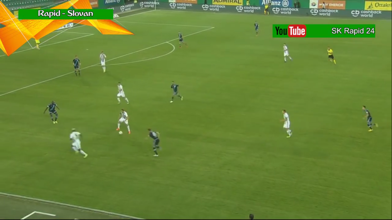 16-08-2018 - Rapid Wien 4-0 Slovan Bratislava (EUROPA LEAGUE QUALIF.)