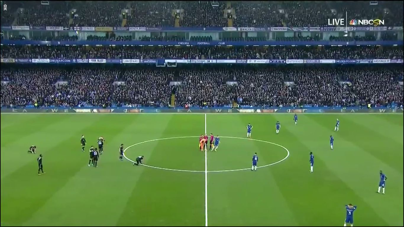 13-01-2018 - Chelsea 0-0 Leicester City