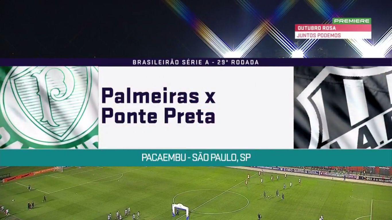 20-10-2017 - Palmeiras 2-0 Ponte Preta