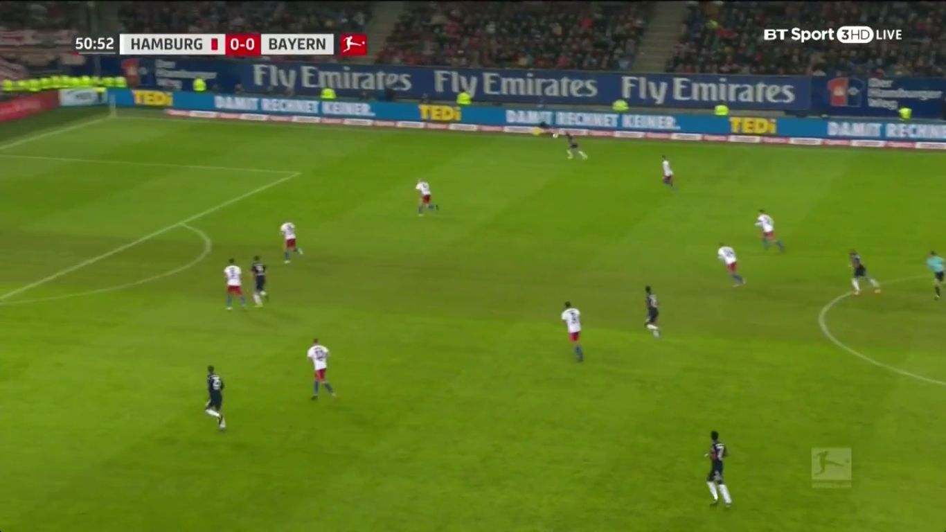 21-10-2017 - Hamburger SV 0-1 Bayern Munich
