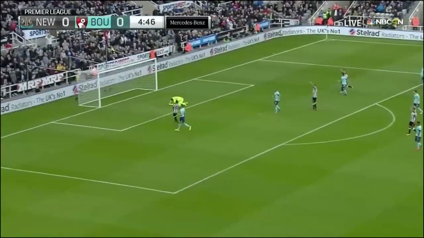 04-11-2017 - Newcastle United 0-1 AFC Bournemouth