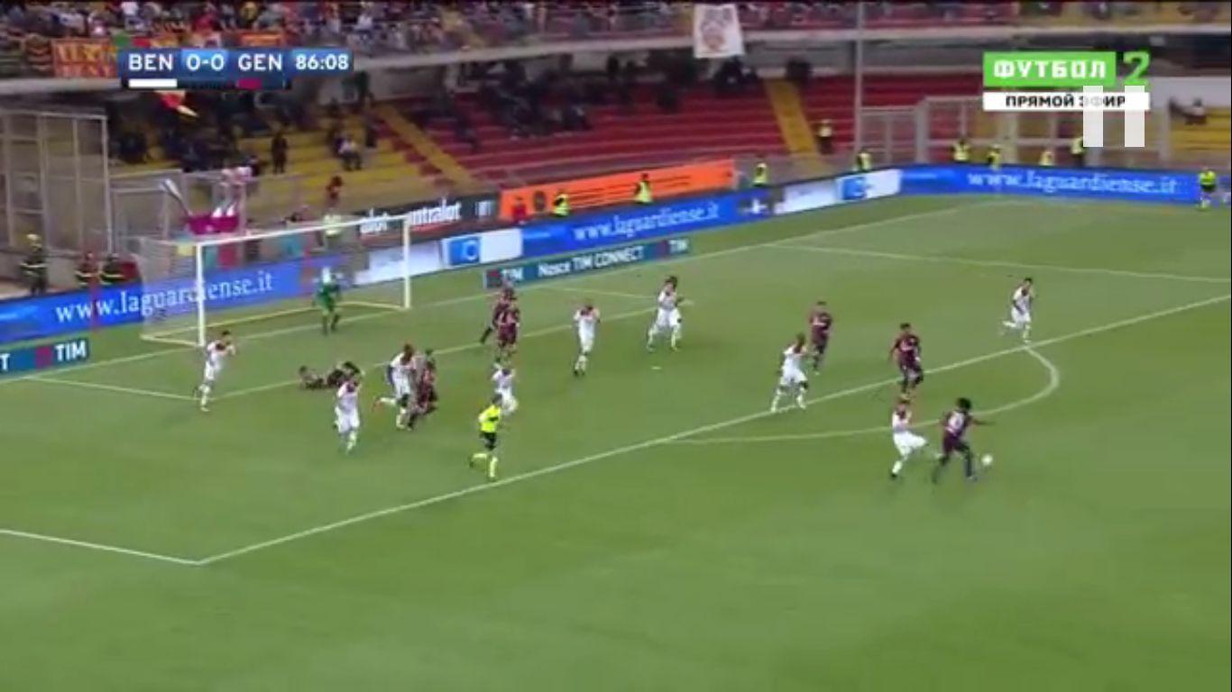 12-05-2018 - Benevento 1-0 Genoa