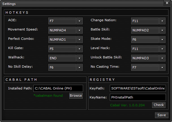 fuji trainer ver. 1.4.3.8