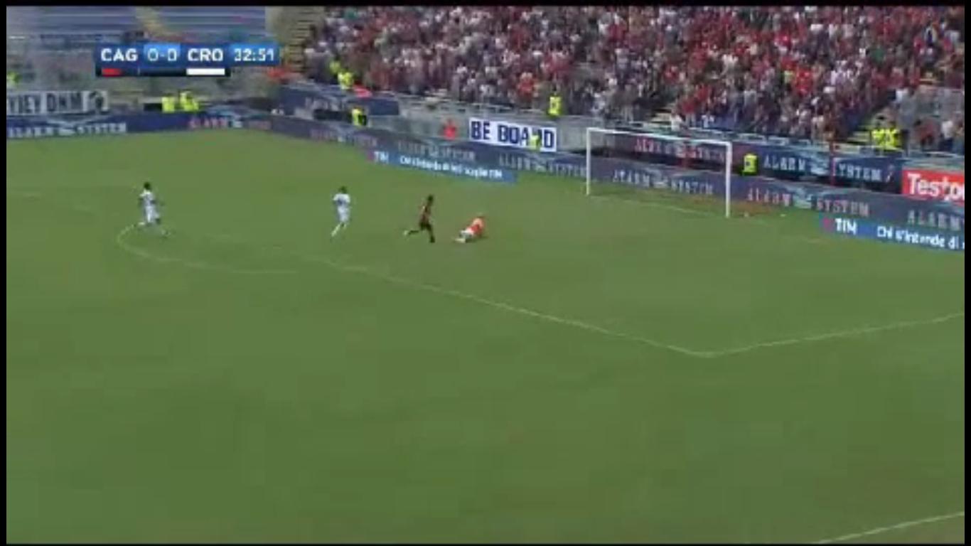 10-09-2017 - Cagliari 1-0 Crotone