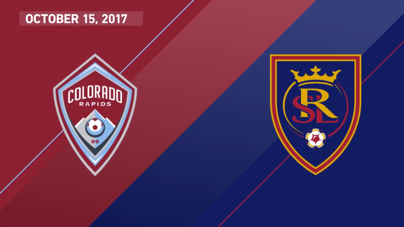 16-10-2017 - Colorado Rapids 1-0 Real Salt Lake