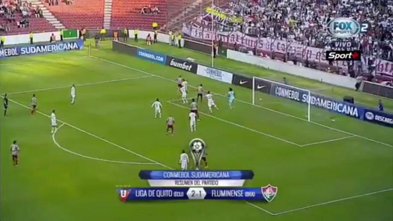22-09-2017 - LDU de Quito 2-1 Fluminense (COPA SUDAMERICANA)