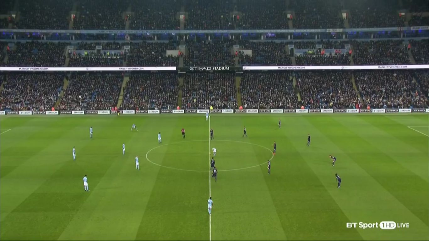 16-12-2017 - Manchester City 4-1 Tottenham Hotspur