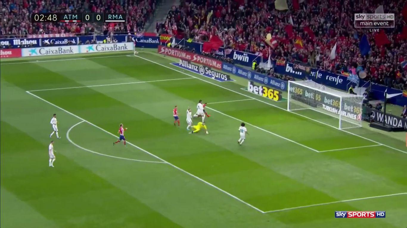18-11-2017 - Atletico Madrid 0-0 Real Madrid