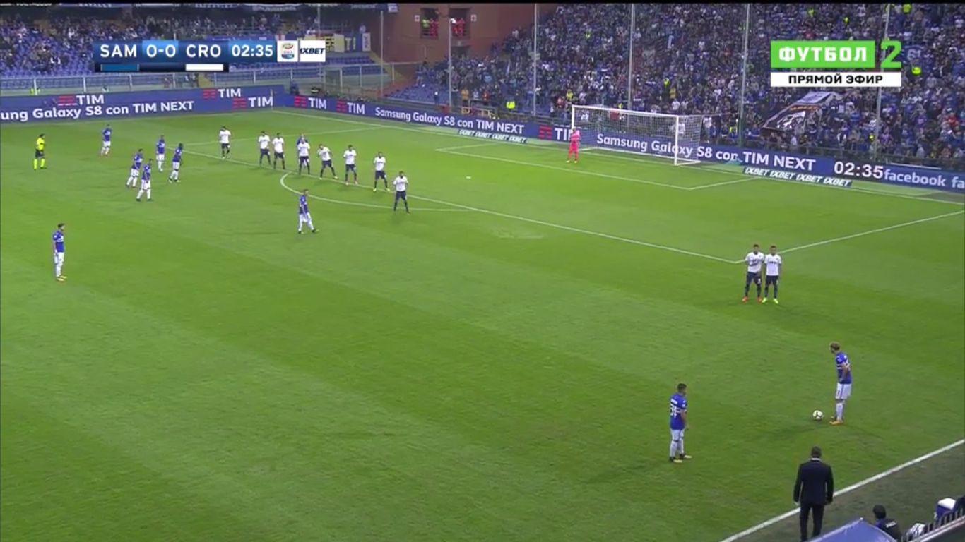 21-10-2017 - Sampdoria 5-0 Crotone