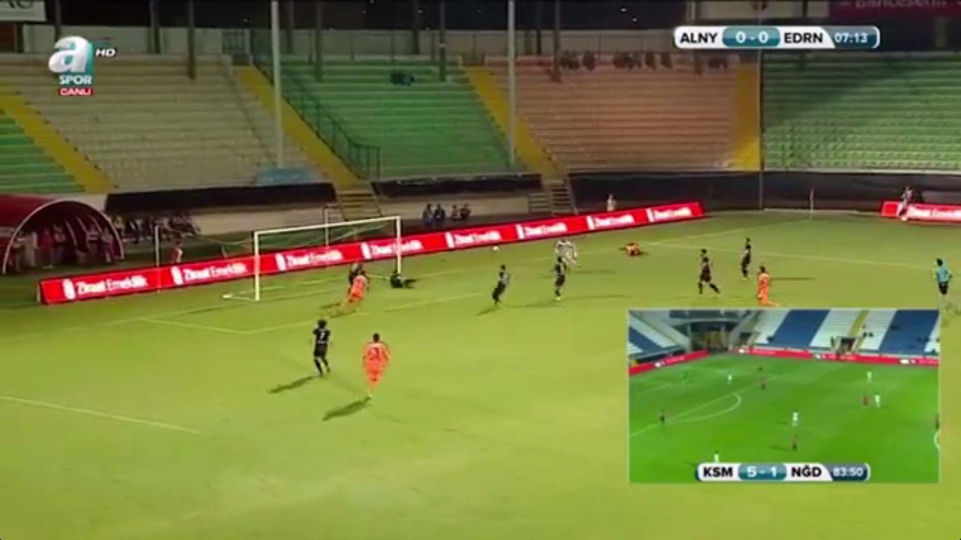 24-10-2017 - Alanyaspor 2-0 Edirnespor Genclik (ZIRAAT CUP)