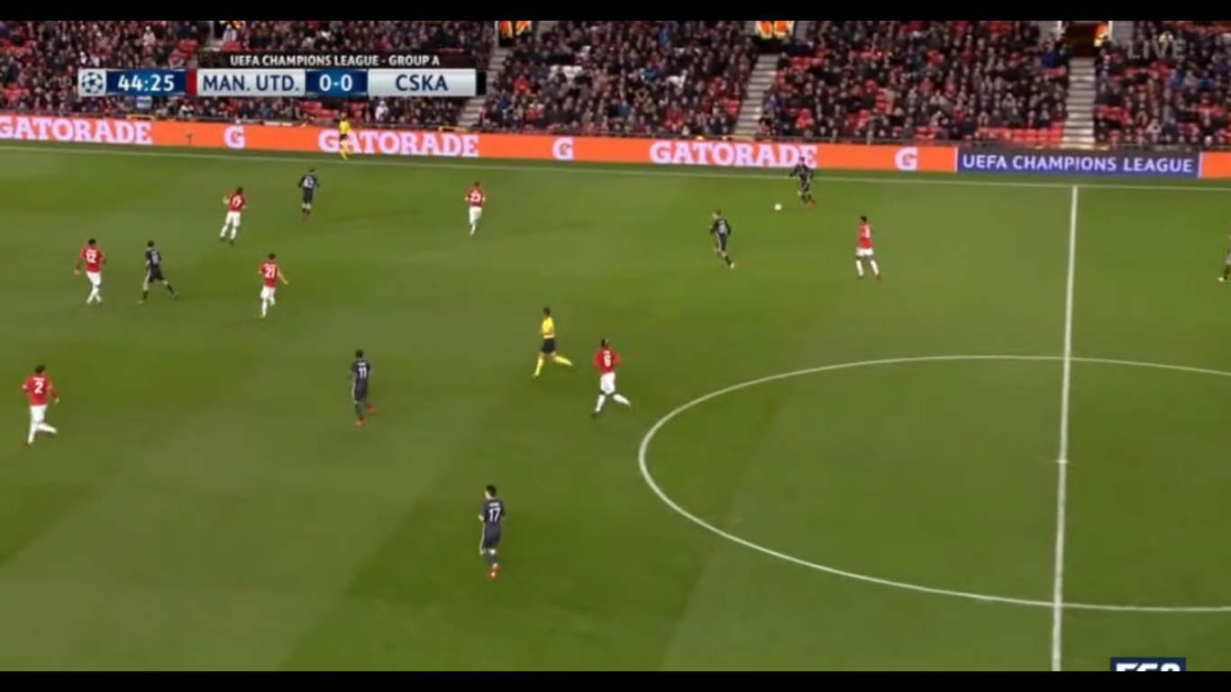 05-12-2017 - Manchester United 2-1 CSKA Moscow (CHAMPIONS LEAGUE)