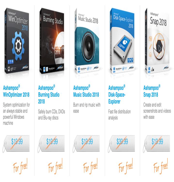 5 برامج مجانية مدى الحياة من Ashampoo  منها WinOptimizer ، Snap و Disk-Space-Explorer mlfgaab.png