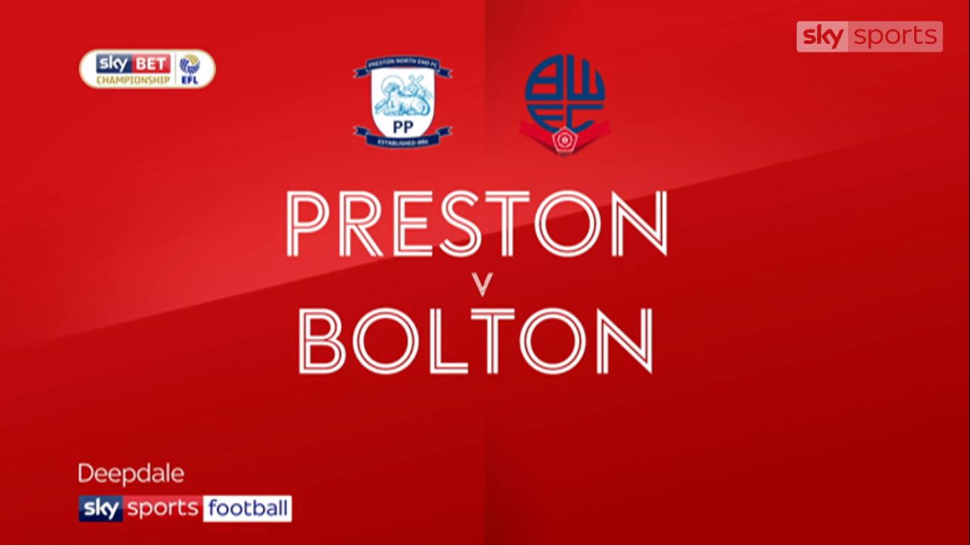 17-11-2017 - Preston North End 0-0 Bolton Wanderers (CHAMPIONSHIP)
