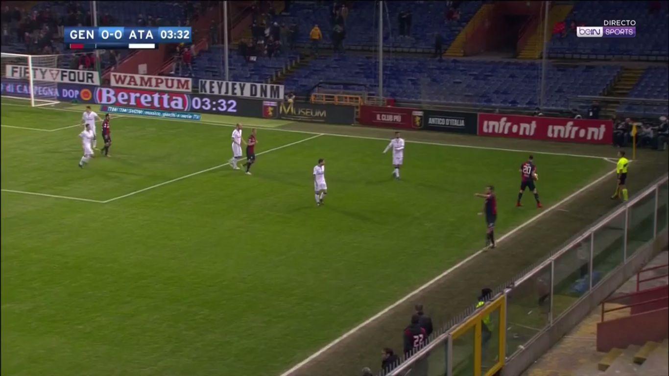 12-12-2017 - Genoa 1-2 Atalanta