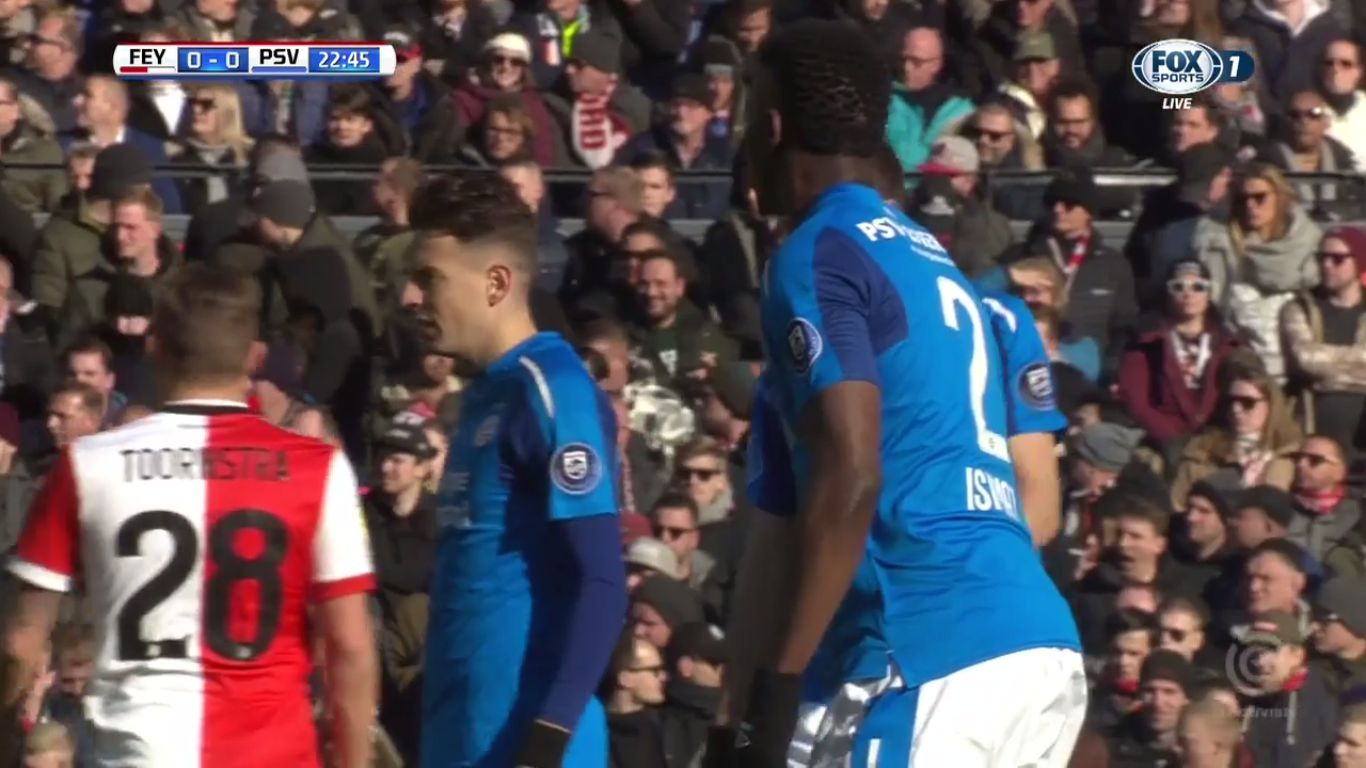 25-02-2018 - Feyenoord 1-3 PSV Eindhoven