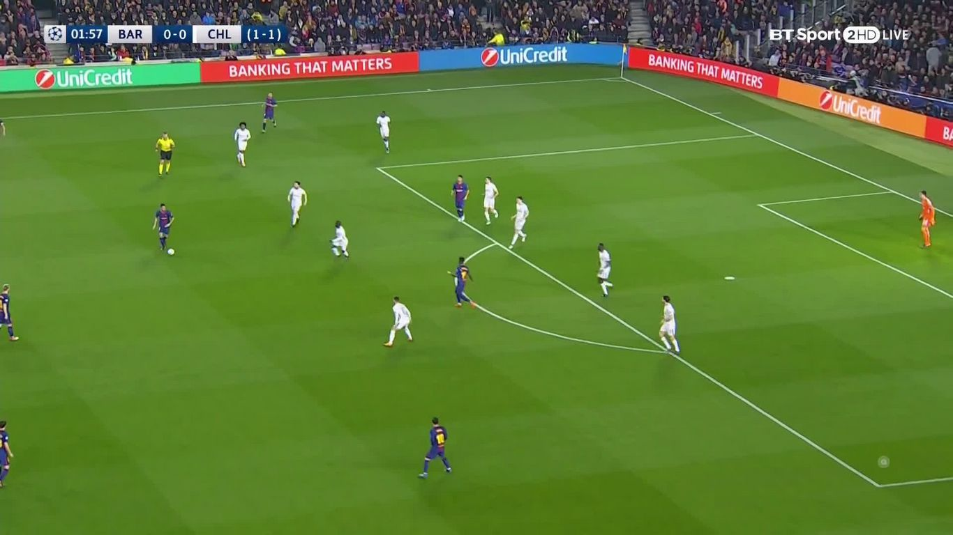 14-03-2018 - Barcelona 3-0 Chelsea (CHAMPIONS LEAGUE)