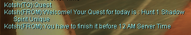 Quest Random PureSRO New