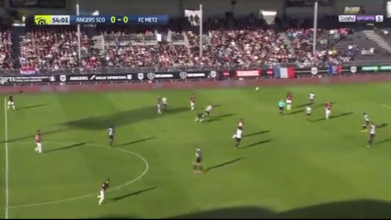 17-09-2017 - Angers 0-1 Metz