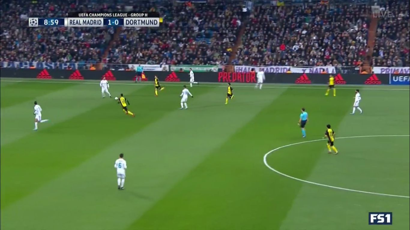 06-12-2017 - Real Madrid 3-2 Borussia Dortmund (CHAMPIONS LEAGUE)