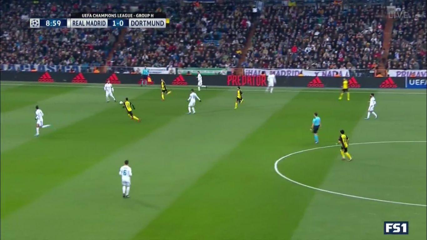 06-12-2017 - Real Madrid 3-2 Borussia Dortmund (CHAMPIONS LEAGUE)