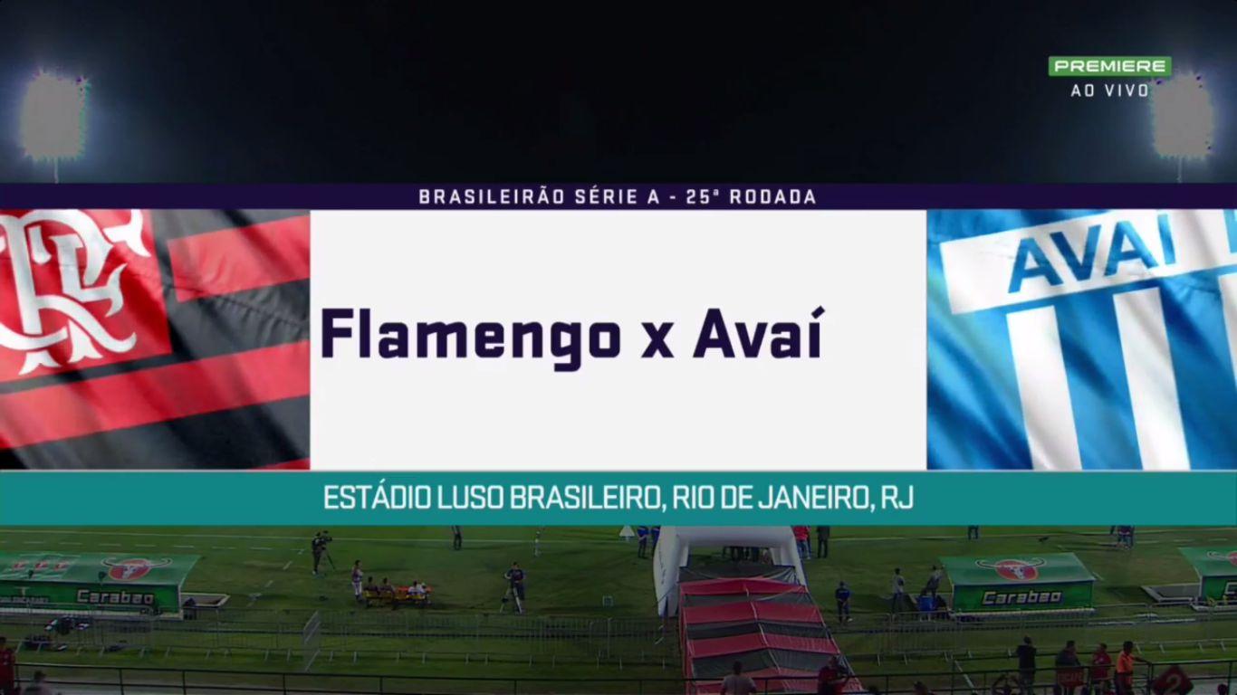 24-09-2017 - Flamengo 1-1 Avai FC
