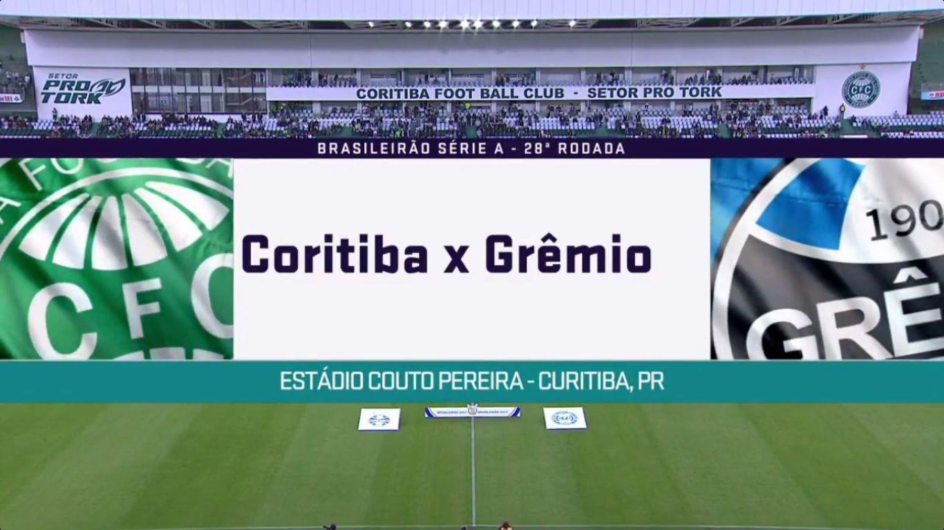 16-10-2017 - Coritiba 0-1 Gremio