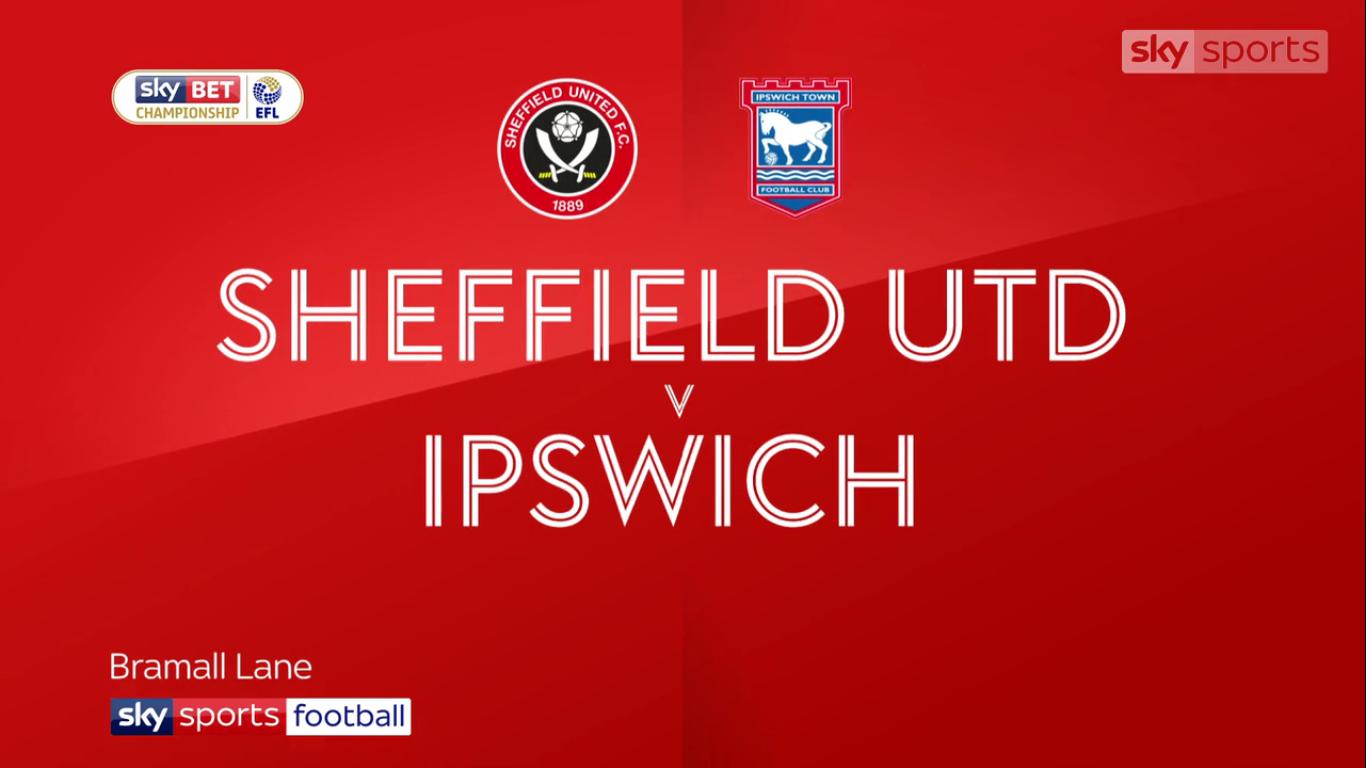 14-10-2017 - Sheffield United 1-0 Ipswich Town (CHAMPIONSHIP)