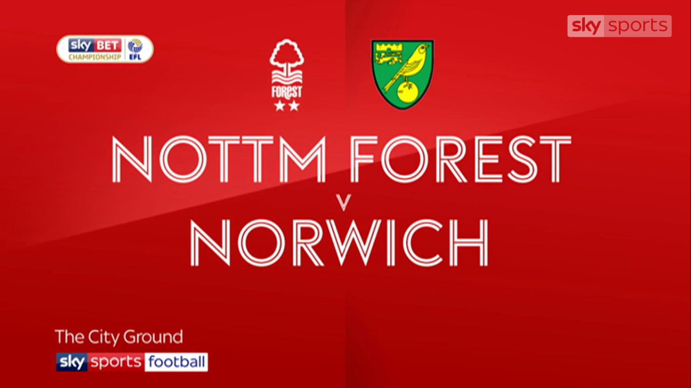 21-11-2017 - Nottingham Forest 1-0 Norwich City (CHAMPIONSHIP)