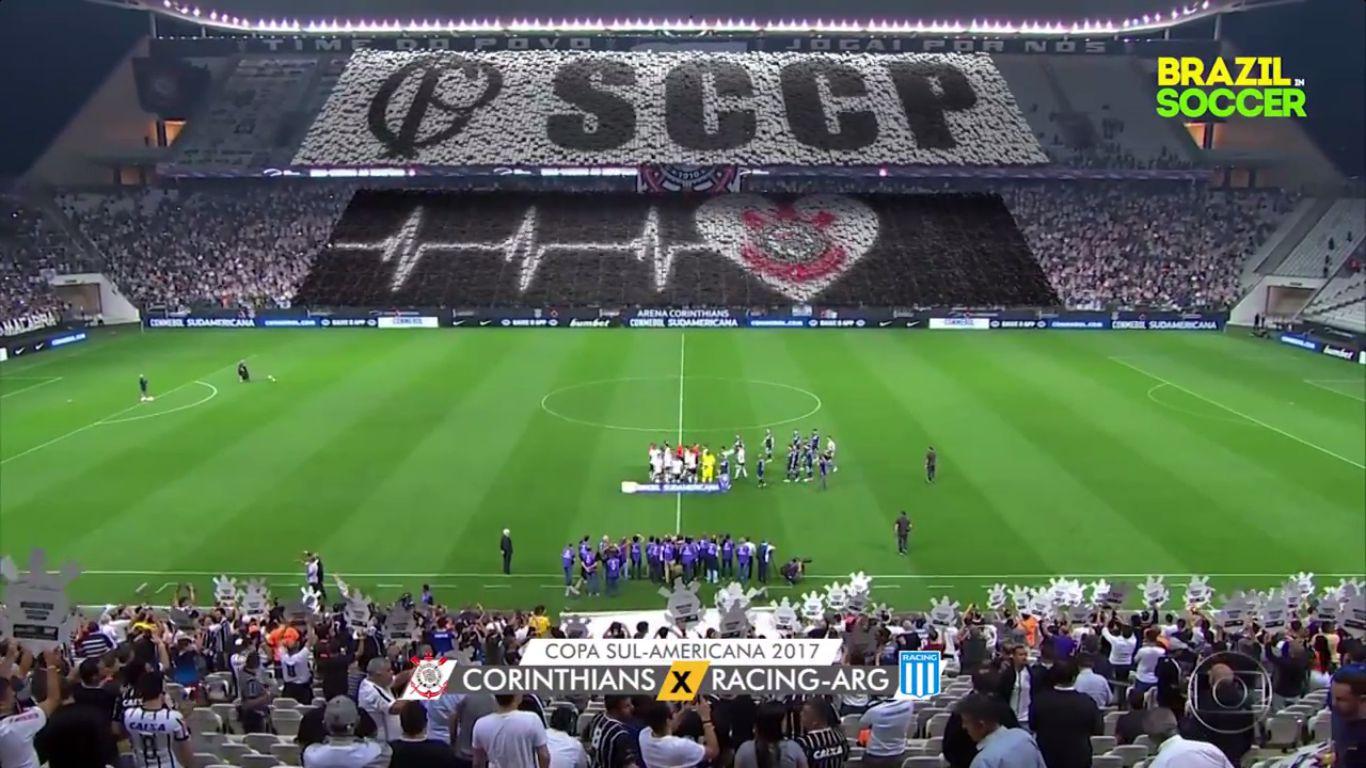 14-09-2017 - Corinthians 1-1 Racing Club (COPA SUDAMERICANA)