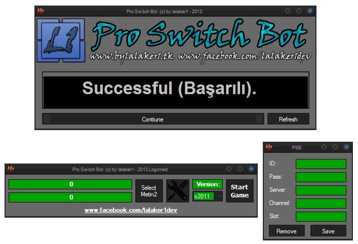 Lalaker1 15'li Efsun Botu Pro Switch Bot   PanelAdresi.com