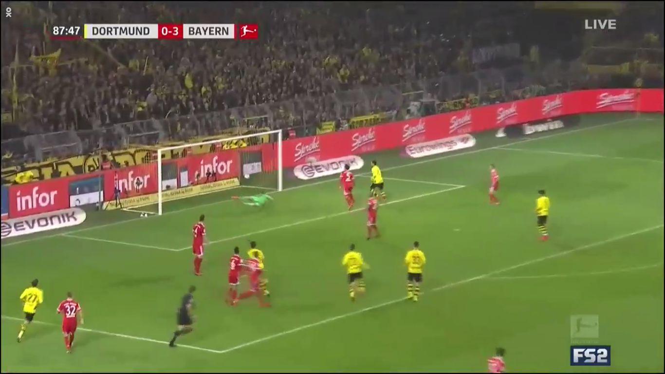 04-11-2017 - Borussia Dortmund 1-3 Bayern Munich