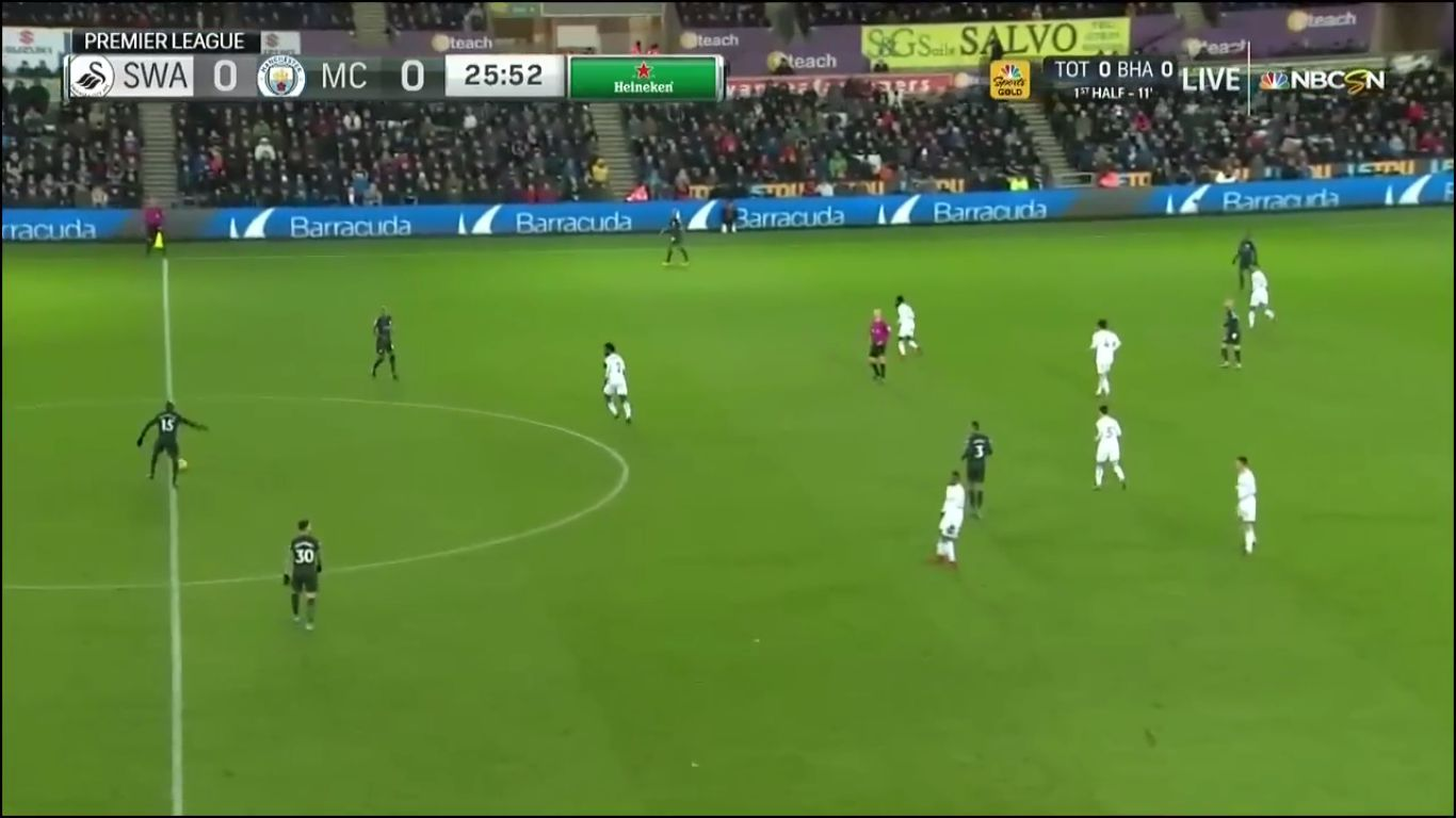 13-12-2017 - Swansea City 0-4 Manchester City