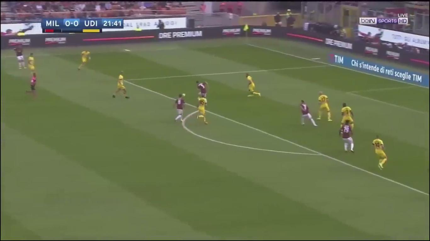 17-09-2017 - AC Milan 2-1 Udinese