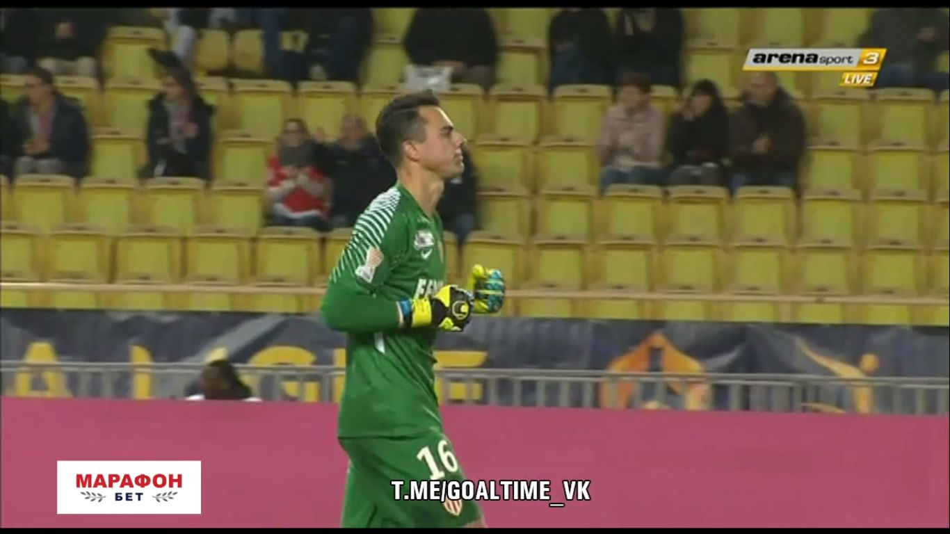 12-12-2017 - Monaco 2-0 Caen (LEAGUE CUP)