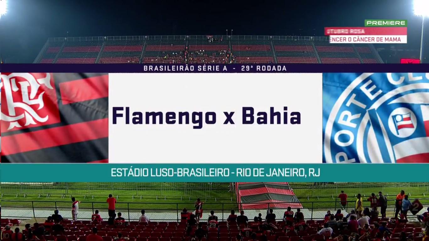 20-10-2017 - Flamengo 4-1 Bahia