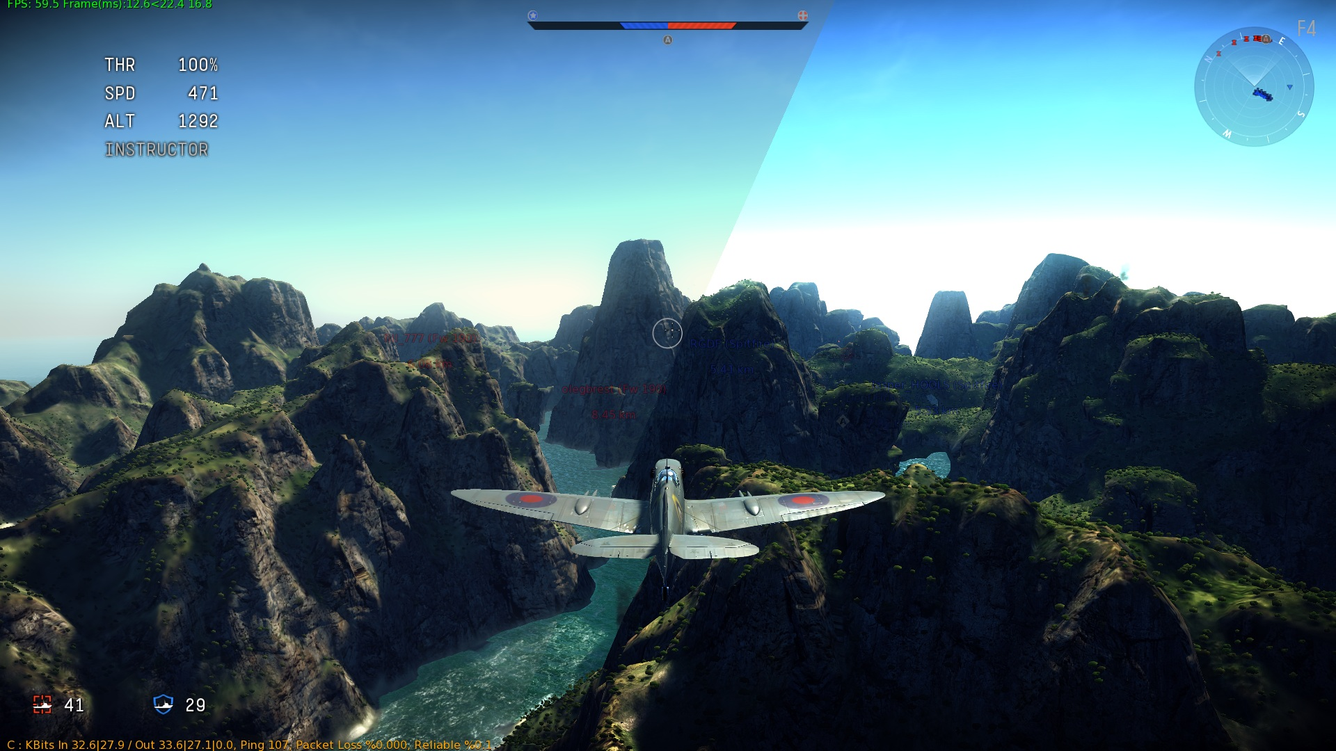 War Thunder Golden Eagles Generator