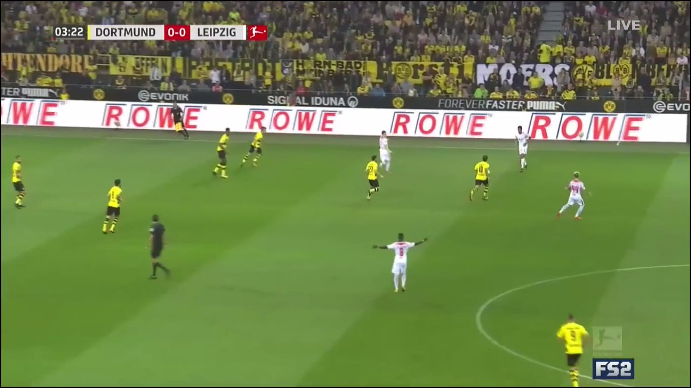 14-10-2017 - Borussia Dortmund 2-3 RasenBallsport Leipzig