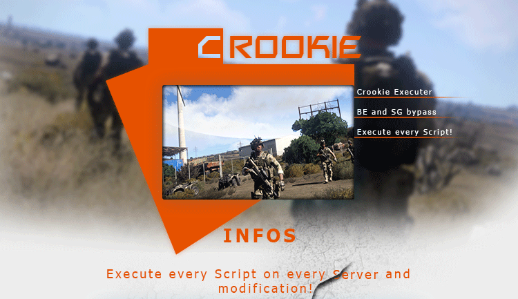 ArmA 3 - Crookie Menu - Private Injector