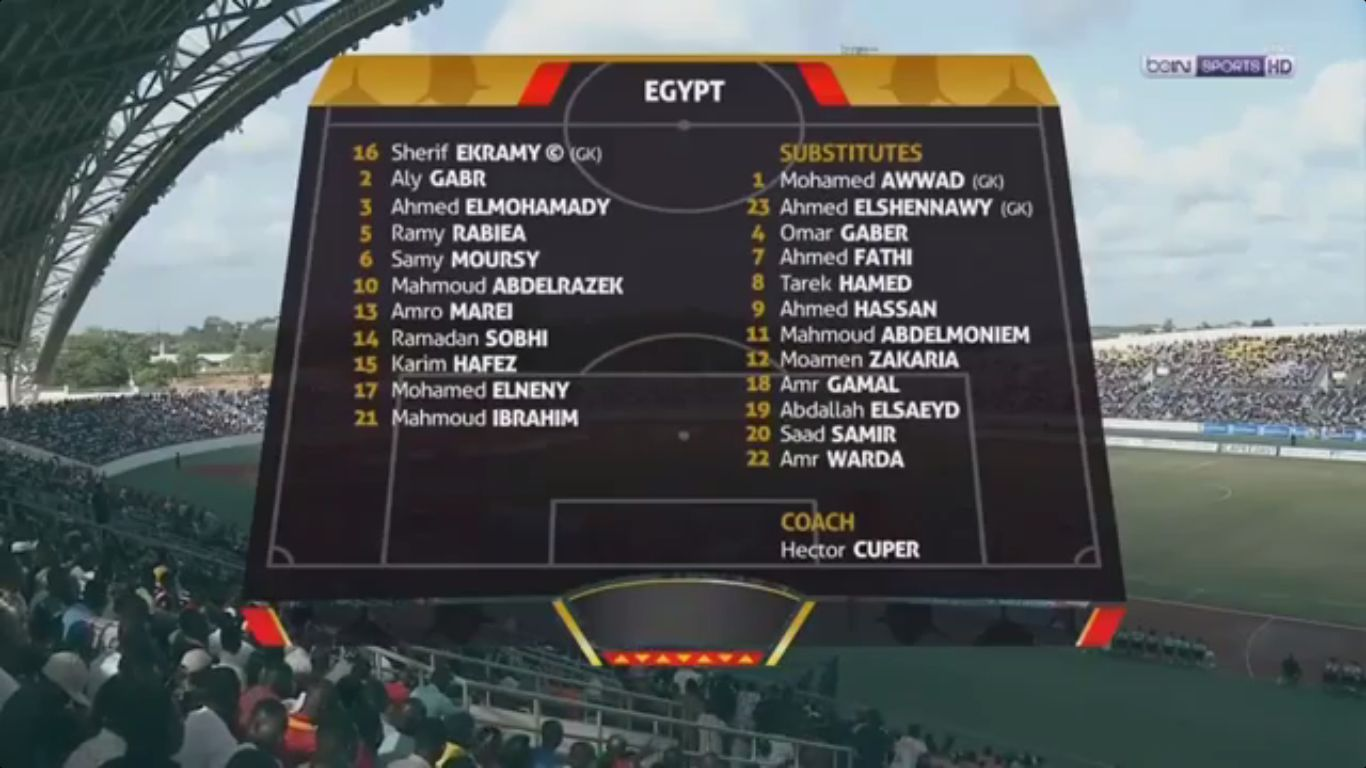 12-11-2017 - Ghana 1-1 Egypt (WORLD CUP QUALIF.)