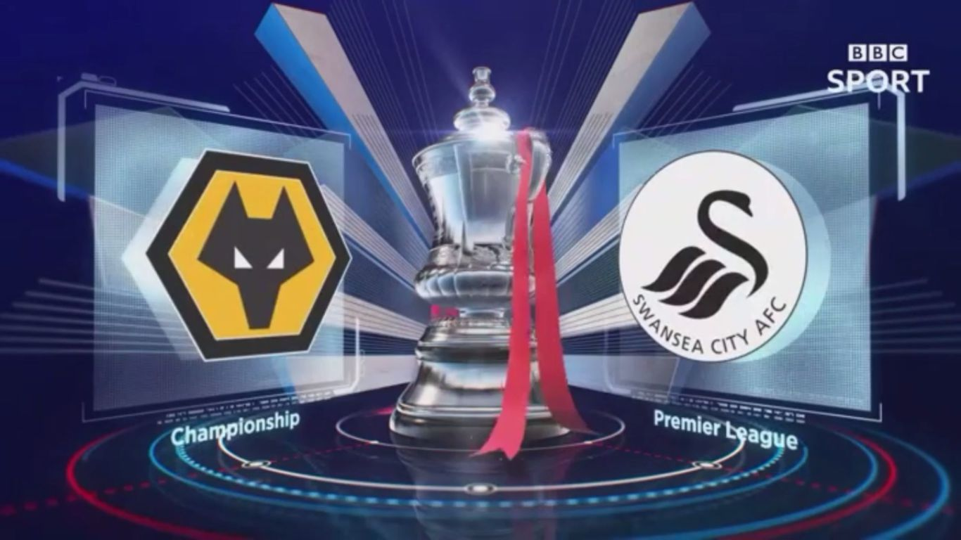 06-01-2018 - Wolverhampton Wanderers 0-0 Swansea City (FA CUP)
