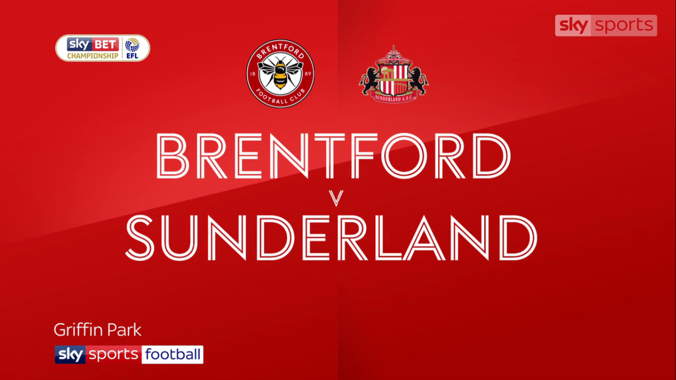 21-10-2017 - Brentford 3-3 Sunderland (CHAMPIONSHIP)