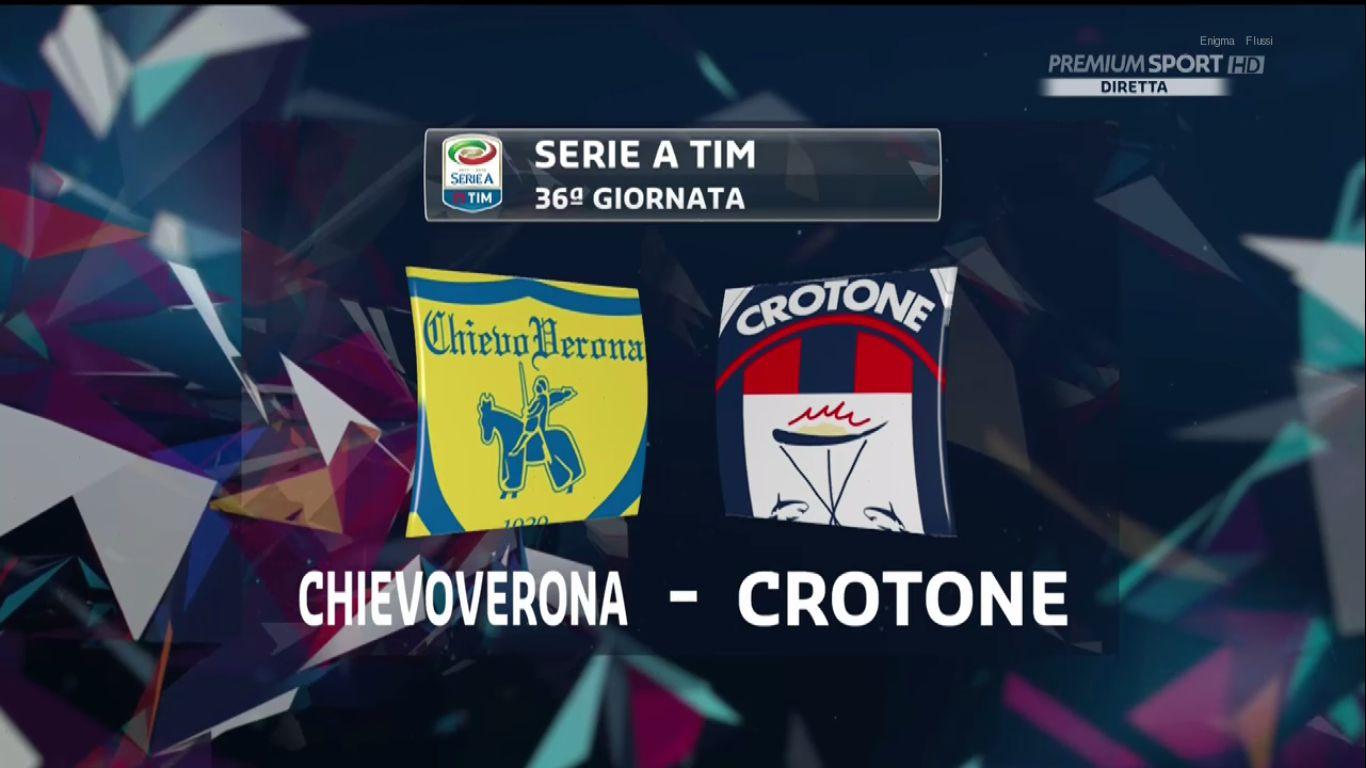 06-05-2018 - ChievoVerona 2-1 Crotone