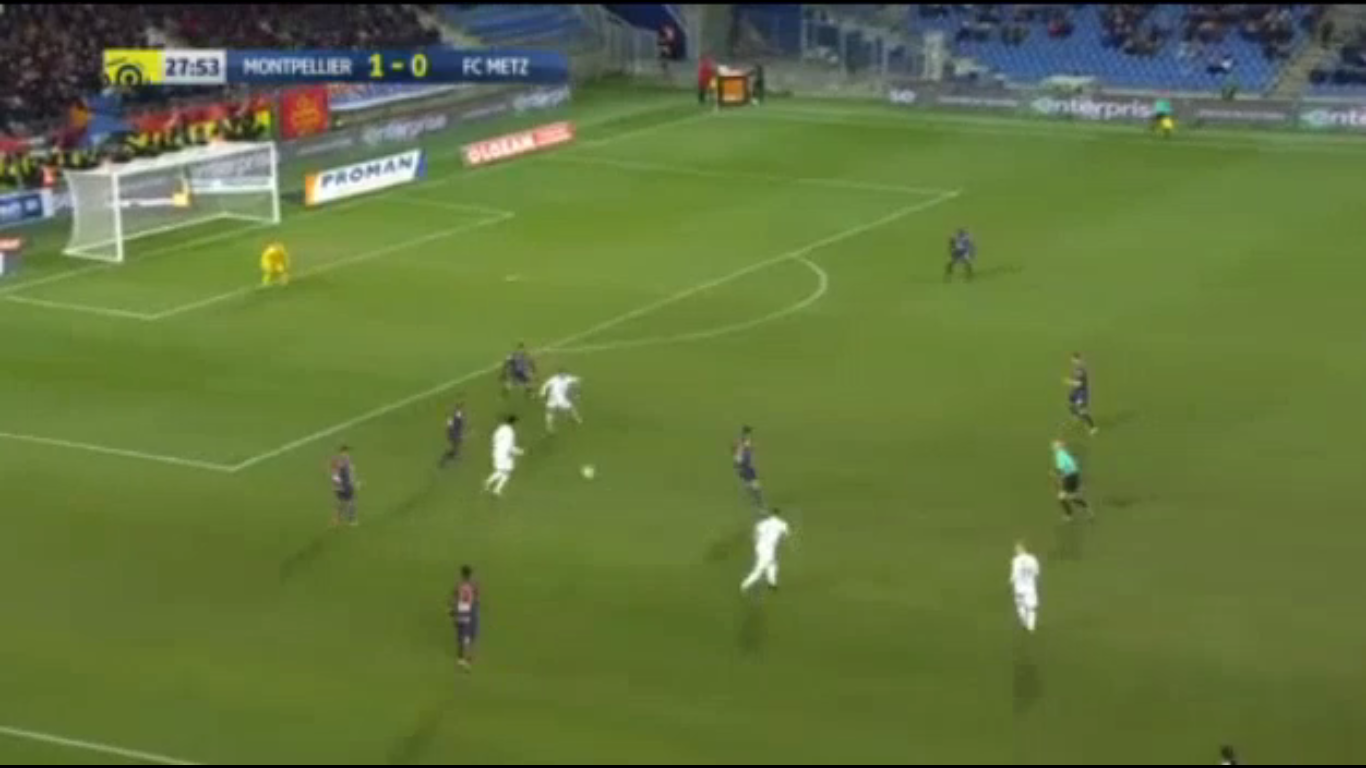 16-12-2017 - Montpellier 1-3 Metz