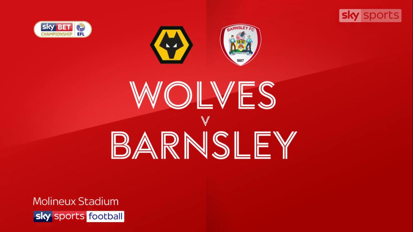 23-09-2017 - Wolverhampton Wanderers 2-1 Barnsley (CHAMPIONSHIP)
