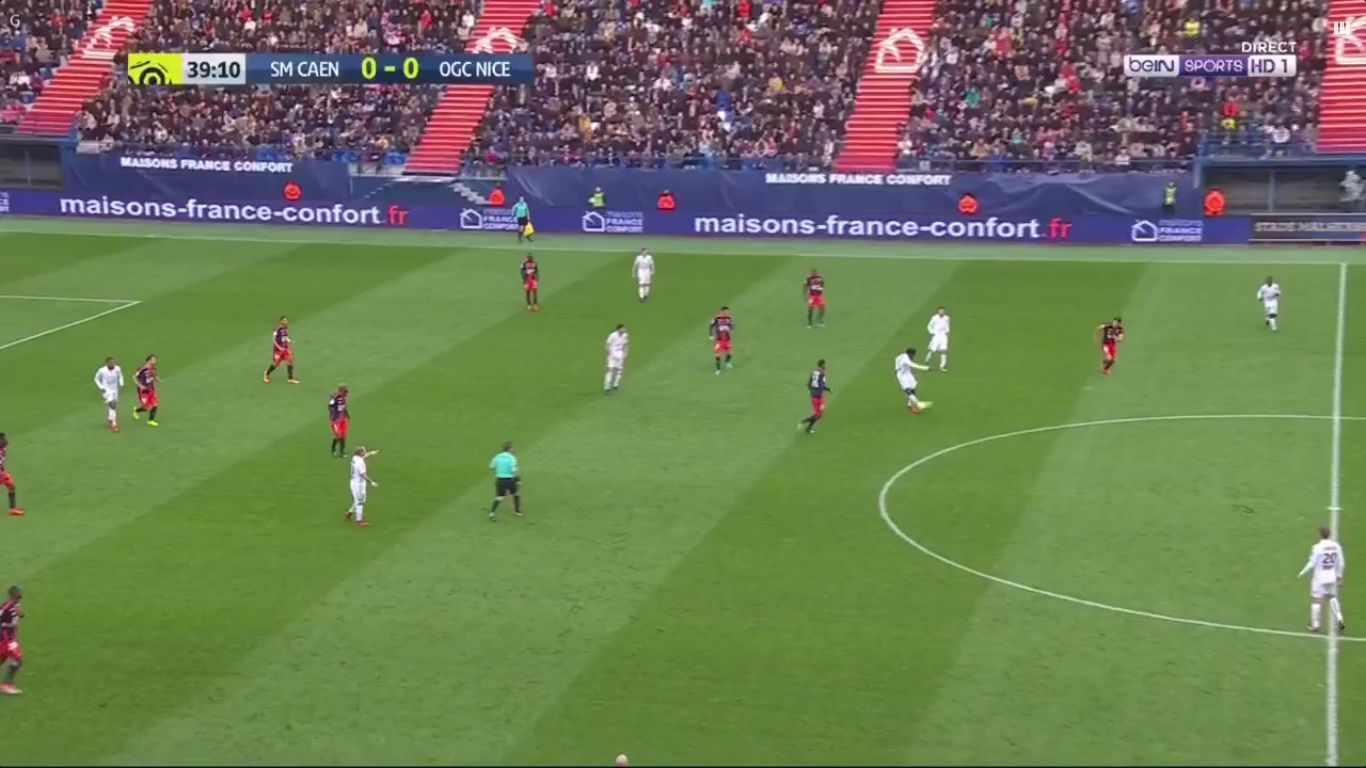 19-11-2017 - Caen 1-1 Nice