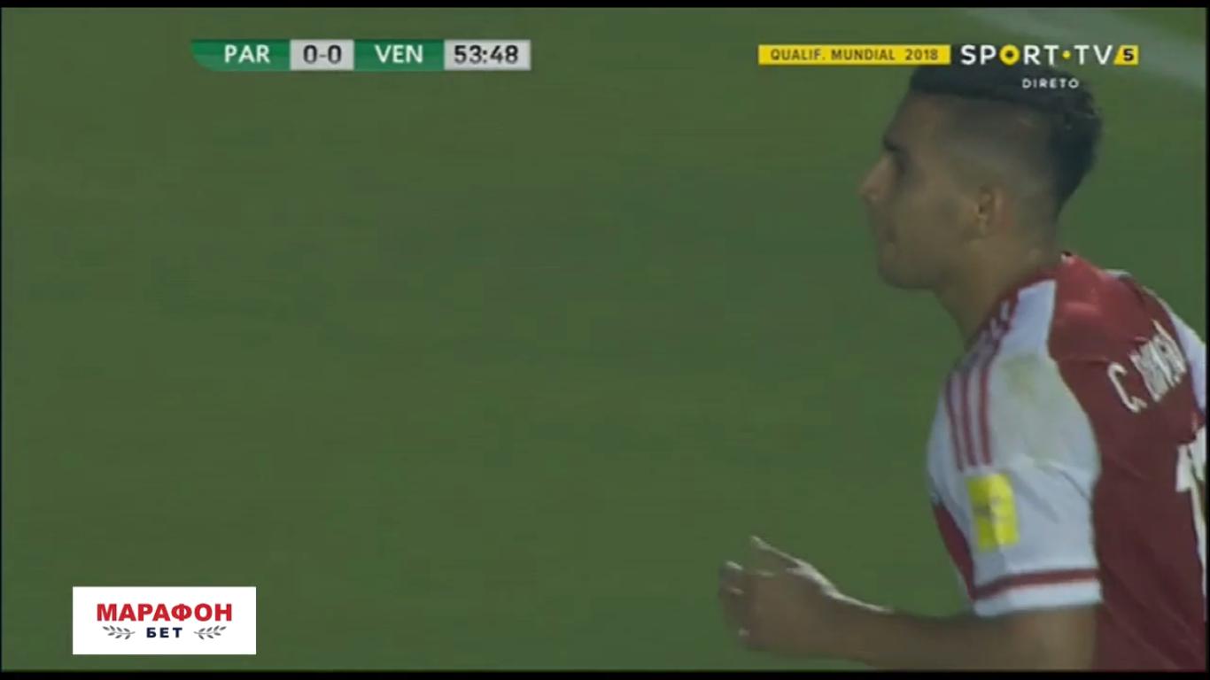 11-10-2017 - Paraguay 0-1 Venezuela (WORLD CUP QUALIF.)