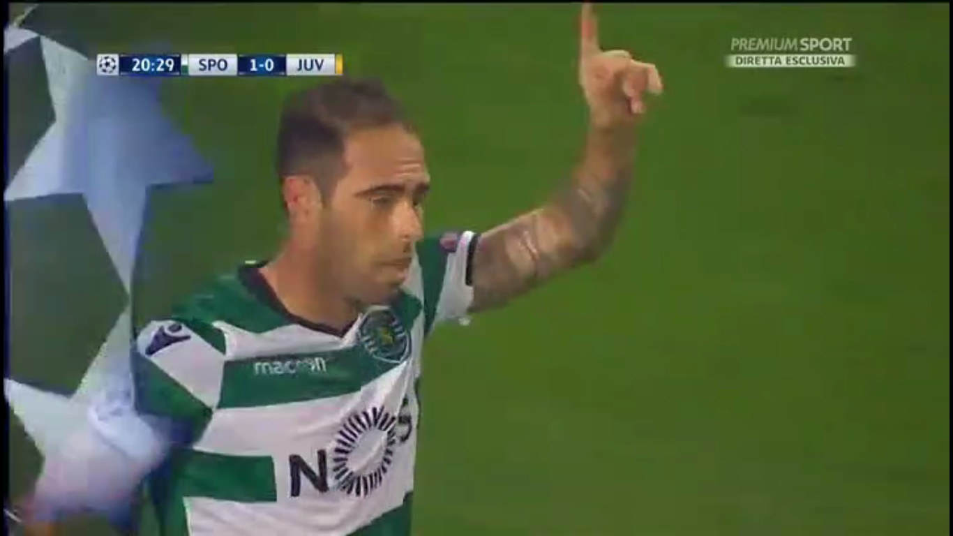 31-10-2017 - Sporting CP 1-1 Juventus (CHAMPIONS LEAGUE)
