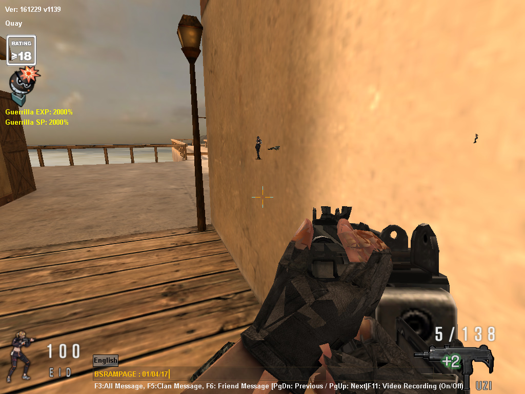 Release no recoil unli ammo exp hack and sp hackhooked yup see the screenshot combined with naked wallhack hooked ccuart Images