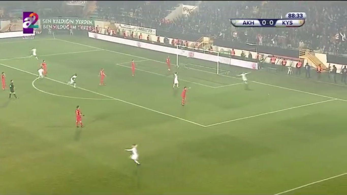 31-01-2018 - Akhisar Belediye Genclik Ve Spor 1-0 Kayserispor (ZIRAAT CUP)