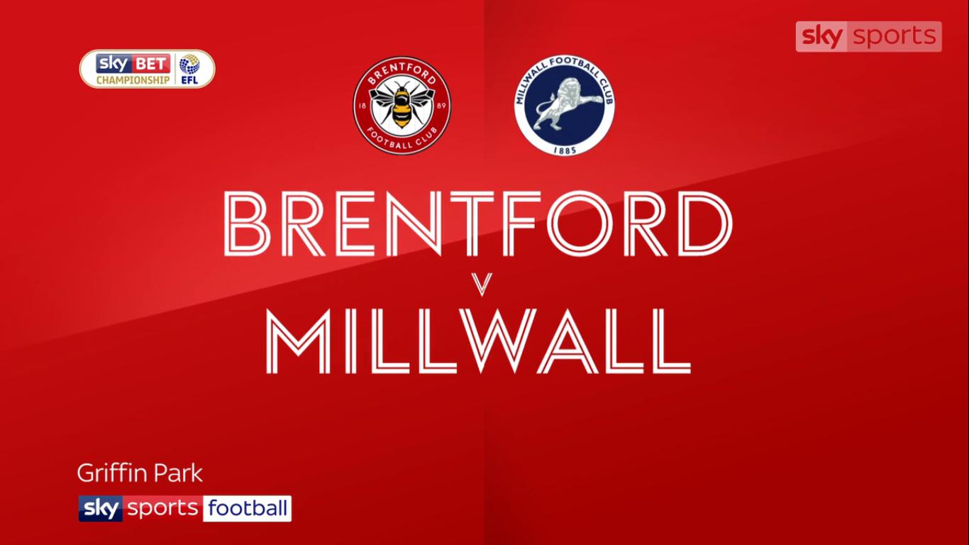14-10-2017 - Brentford 1-0 Millwall (CHAMPIONSHIP)